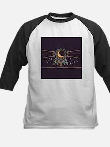Dreamcatcher Moon Kids Baseball Jersey