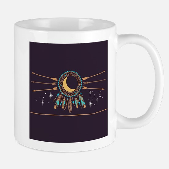 Dreamcatcher Moon Mug