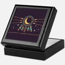 Dreamcatcher Moon Keepsake Box