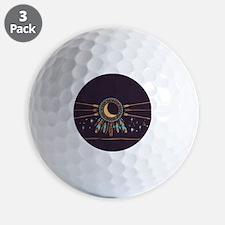 Dreamcatcher Moon Golf Ball