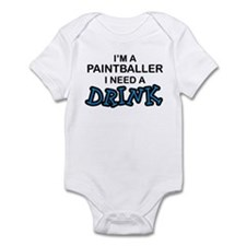 Paintballer Need a Drink Infant Bodysuit