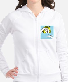 Funny Eloise Fitted Hoodie