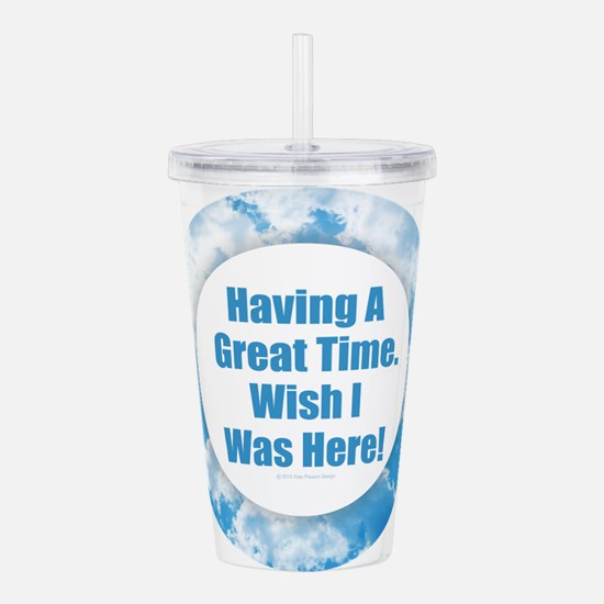 Great Time Acrylic Double-wall Tumbler