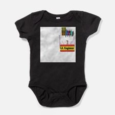 Cute Lil engineer Baby Bodysuit