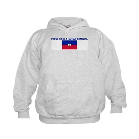 PROUD TO BE A HAITIAN GRANDMA Kids Hoodie