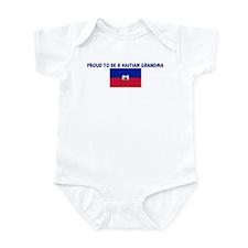 PROUD TO BE A HAITIAN GRANDMA Infant Bodysuit
