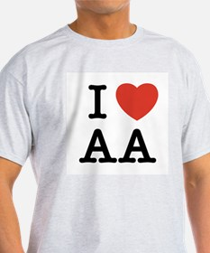 """I Heart All Things """"A"""" T-Shirt"""