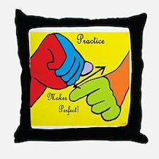American language Throw Pillow