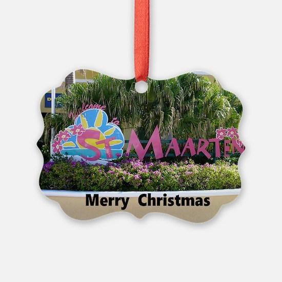 St. Maarten Ornament