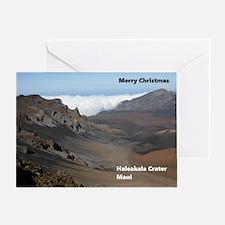 Haleakala Crater Maui Greeting Cards
