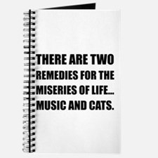 Music And Cats Journal