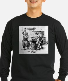 two more early blacksmiths Long Sleeve T-Shirt