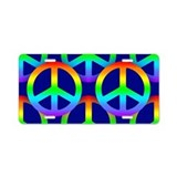 Peace sign License Plates