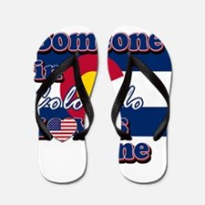 Colorado flag designs Flip Flops