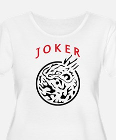 Mah Jong Joker Plus Size T-Shirt