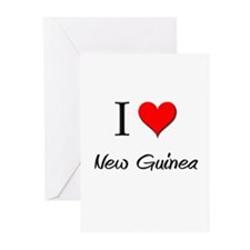 I Love New Greeting Cards (Pk of 10)