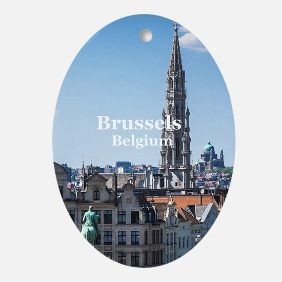 Brussels Oval Ornament