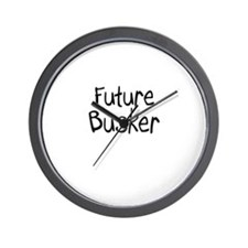 Future Busker Wall Clock