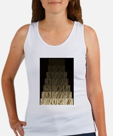 Scream down wooden basement steps Tank Top