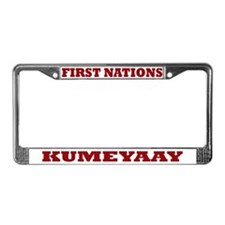 Kumeyaay First Nations License Plate Frame