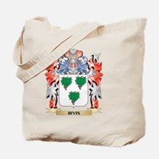Irvin Coat of Arms - Family Crest Tote Bag