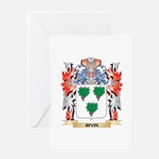 Irvin Coat of Arms - Family Crest Greeting Cards