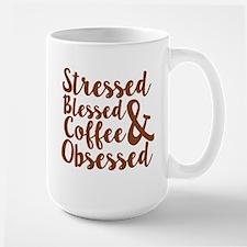 coffee obsessed Mugs
