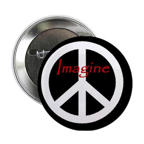 """Imagine Peace 2.25"""" Button"""