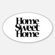 Cute Housewarming party Sticker (Oval)