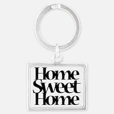 Unique Home sweet home Landscape Keychain
