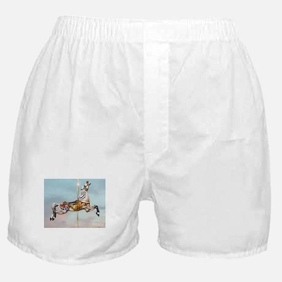 Carousel Horse Boxer Shorts
