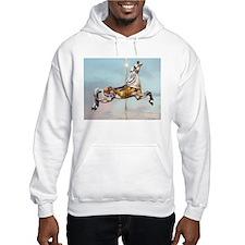 Carousel Horse Hoodie Sweatshirt