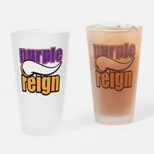 PURPLE REIGN Drinking Glass