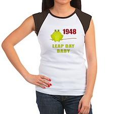 1948 Leap Year Baby Women's Cap Sleeve T-Shirt