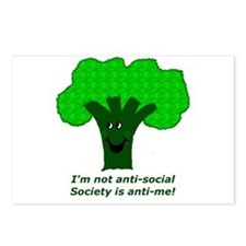 Anti-Social Postcards (Package of 8)