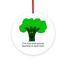 Anti-Social Ornament (Round)