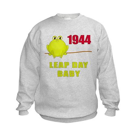 1944 Leap Year Baby Kids Sweatshirt