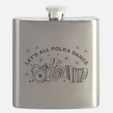 Polka Dance Flask