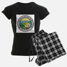 Seal of the state of Alaska Pajamas