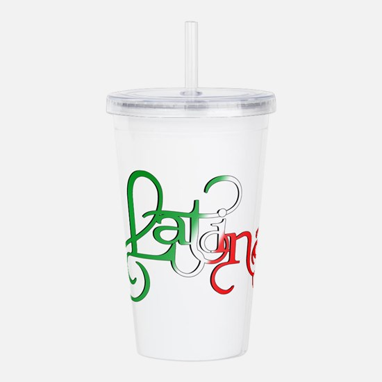 Proud to be a Latina! Acrylic Double-wall Tumbler