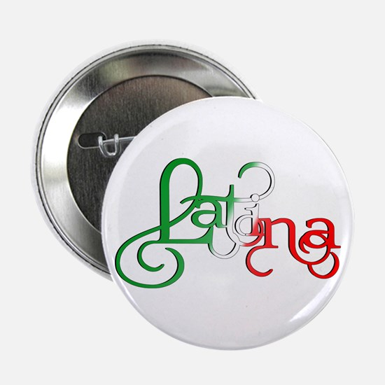 """Proud to be a Latina! 2.25"""" Button"""