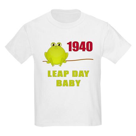 1940 Leap Year Baby Kids Light T-Shirt