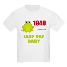 1940 Leap Year Baby T-Shirt