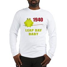 1940 Leap Year Baby Long Sleeve T-Shirt