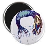 Breaching Mermaid Magnets