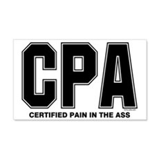 CPA Pain Wall Decal
