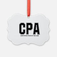 CPA Pain Ornament