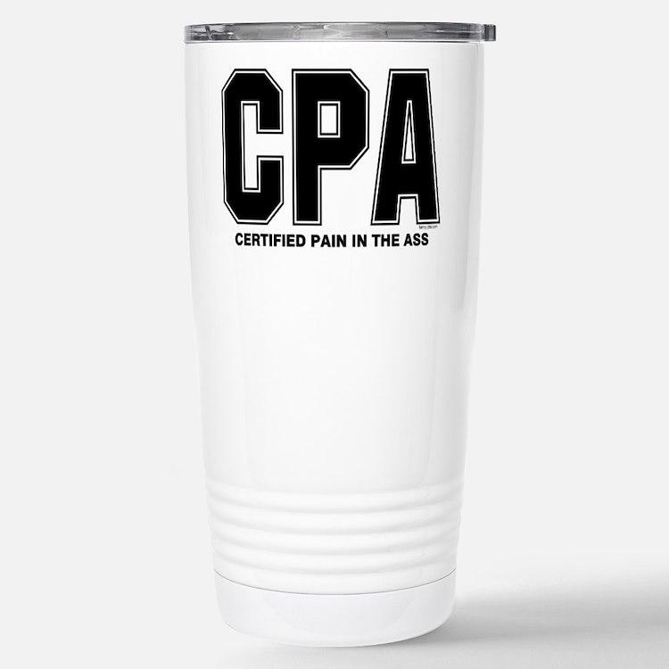 CPA Pain Travel Mug