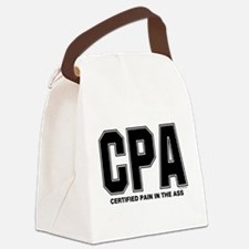 CPA Pain Canvas Lunch Bag