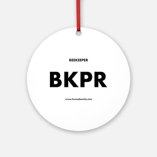 Beekeeper BKPR Round Ornament